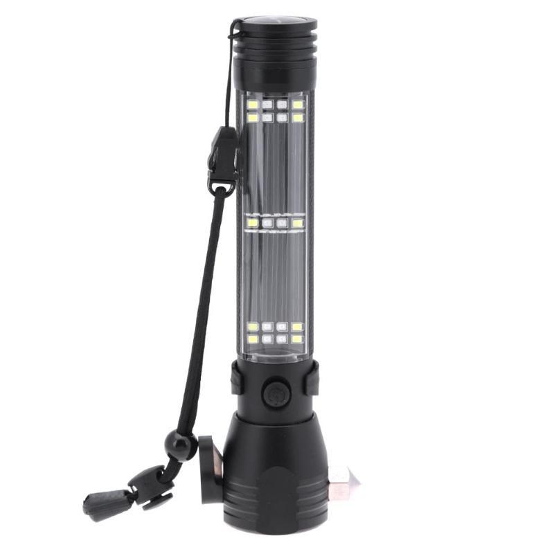 12xCREE XM-L T6 LED Aluminium Alloy Flashlight IPX-8 Waterproof 13000LM High Brightness Torch