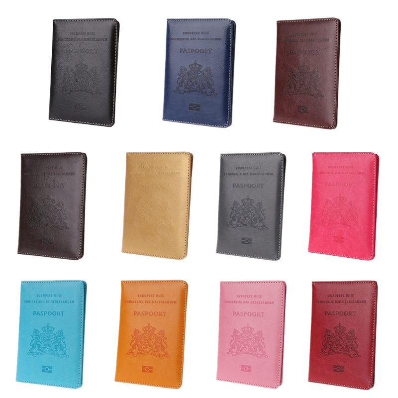 Gili Red Turban Bone Travel Passport /& Document Organizer Zipper Case