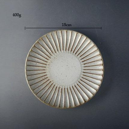 round plate S