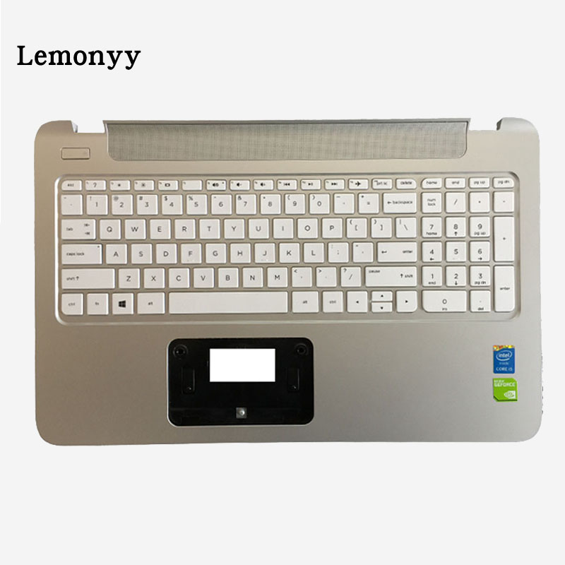 NEW US For HP 15-p067ca 15-p074ca 15-p080ca 15-p084ca 15-p087ca 15-p088ca laptop Keyboard Palmrest Upper cover