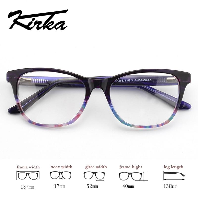 Kirka 2018 Óptica Retro Eye Glasses Frame Unisex Marco de gafas Moda - Accesorios para la ropa - foto 3