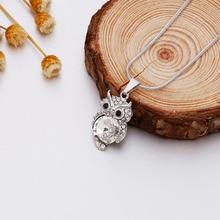 Best Cheap Swarovski Element Crystal Owl Necklace