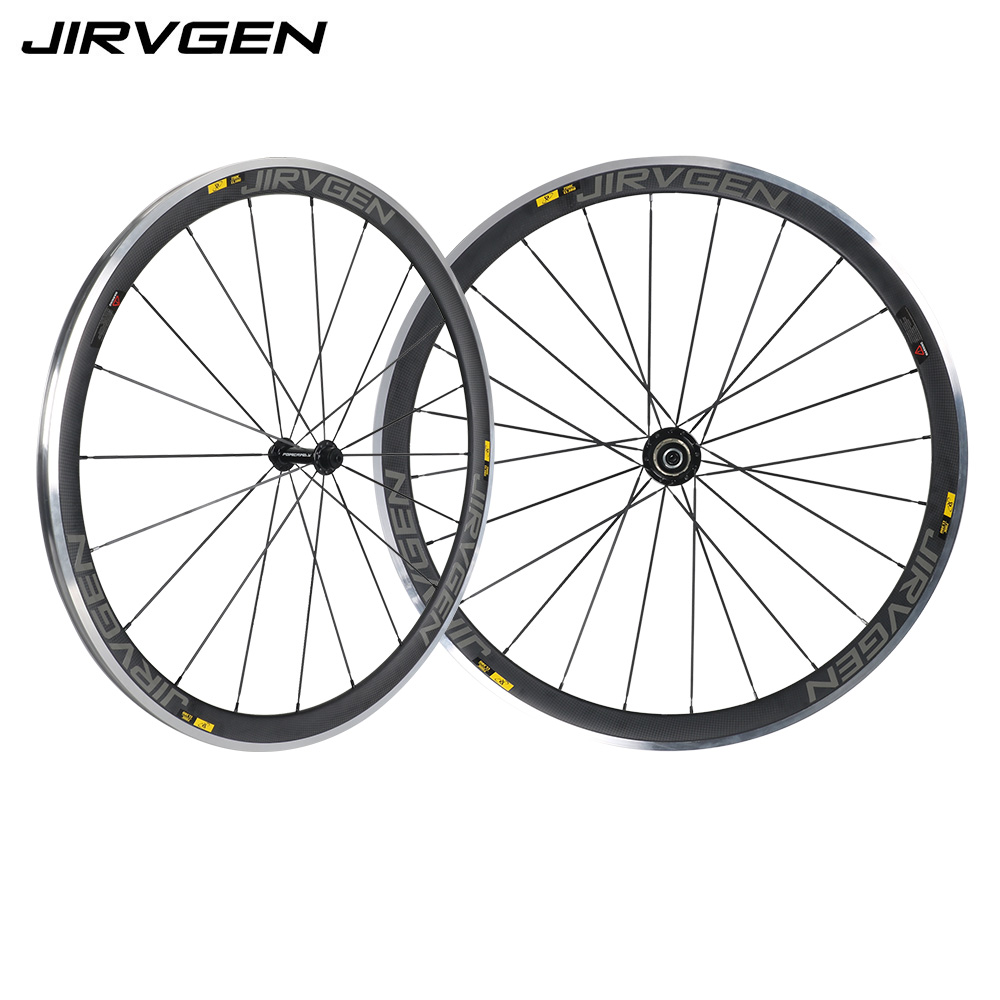 700C Alloy brake surface carbon wheels 38mm depth Climbing carbon wheelset 23mm width 3K matte finish For Long downhill riding