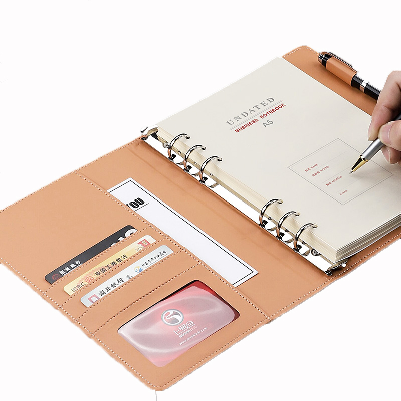 Looseleaf Business Notebook Removable Simple A5 day Notebook Binder Multifunctional Notebook Student Stationery SuppliesLooseleaf Business Notebook Removable Simple A5 day Notebook Binder Multifunctional Notebook Student Stationery Supplies