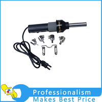 New 220V 450 Degree Centigrade 450W LCD Soldering Station Hot Air Gun Brand GJ 8018lcd Portable
