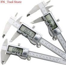 Promo offer 6 inch/ 0-150 mm LCD screen Smooth gliding solid stainless steel digital caliper electronic measuring instruments