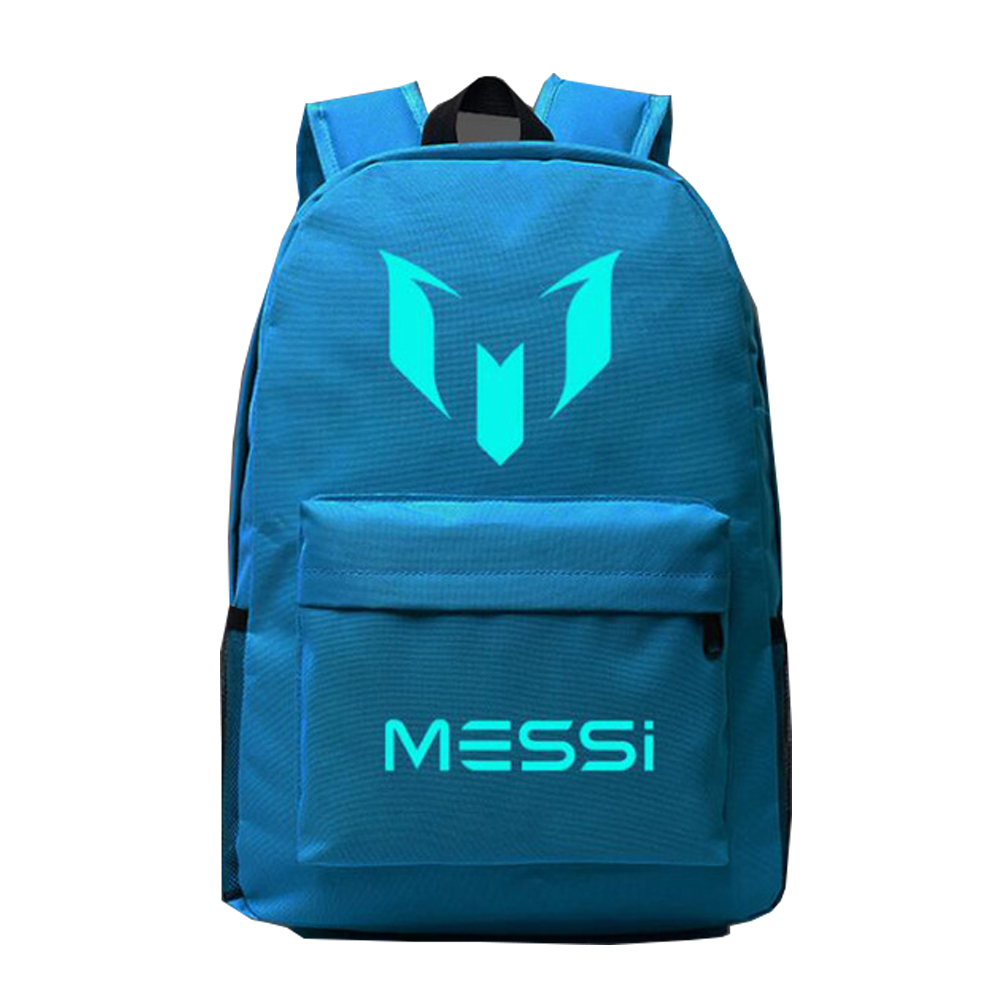 Responsible Messi Cr7 Lebron School Backpacks Childrencustom Made Letter Printing Glowing Backpack Kids Gift Training Bags Top Quality Easy To Use