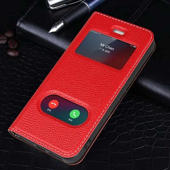 iPhone SE Leather Magnetic Case