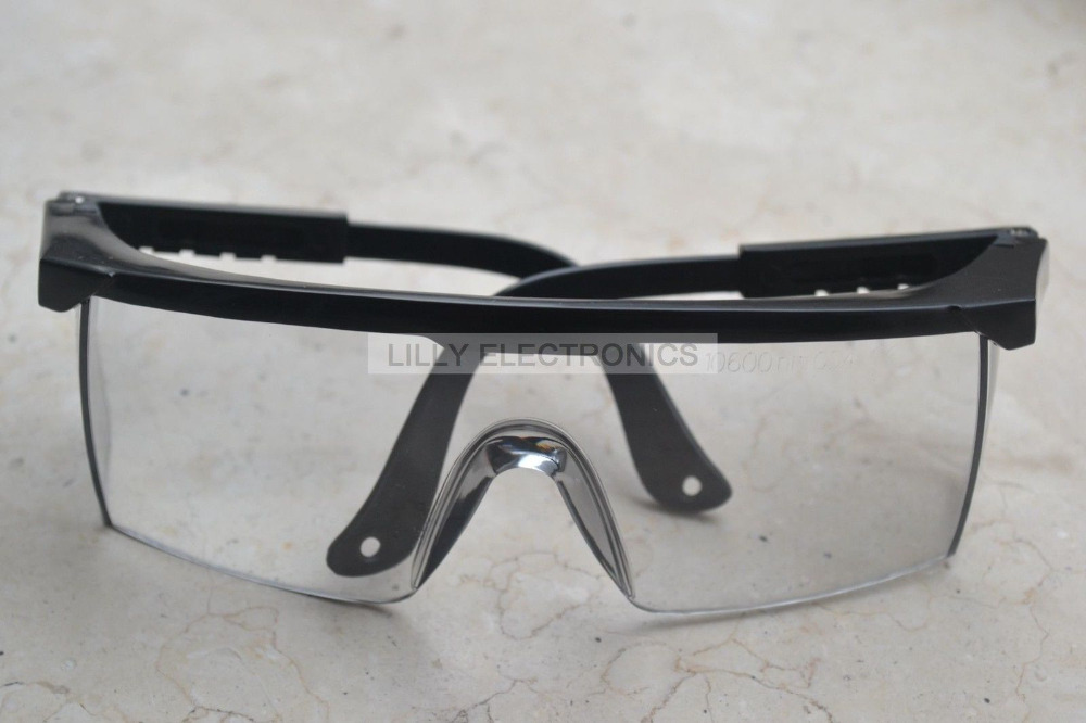 NEW Protection Goggles for CO2 Laser 10600nm 10.6um Glasses Absorption Type (TYPE1) new type co2 laser head