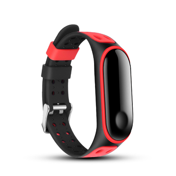 For Xiaomi Mi Band 5 Sport Strap watch Silicone wrist strap For xiaomi mi band 4 bracelet Miband 5 4 Strap band 3 Smart Bracelet mi band 3 4 silicone wrist strap accessories for xiaomi mi band 3 4 smart watch bracelet band3 sport wristbands miband 3 band