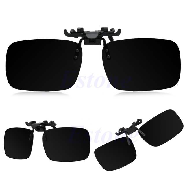 5364710bd6d0 New Hot Clip on Flip up Lens Polarized Day Night Vision Sunglasses Driving  Glasses S,M,L-in Sunglasses from Apparel Accessories on Aliexpress.com |  Alibaba ...