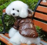 Pet giysi köpek sonbahar ve kış vip kış oyuncak su geçirmez wadded ceket pet malzemeleri