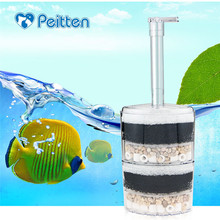 Top quality Boutique Aquarium filter air-operated Efficient Economy Internal Corner In Tank Filters Fish equipment
