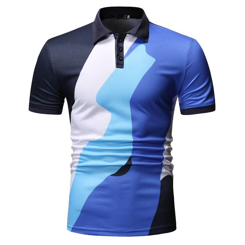 New Men's Casual Fashion POLO Shirt Short Sleeve Pullover Clothes Man Polo Shirt