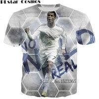51a5504dd PLstar Cosmos New Summer Style Cristiano Ronaldo Print 3d T Shirt Men Women  Casual Tshirt Unisex
