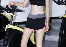 new arrival women mix colors sports running shorts quick-drying shorts breathable shorts Yoga fitness shorts