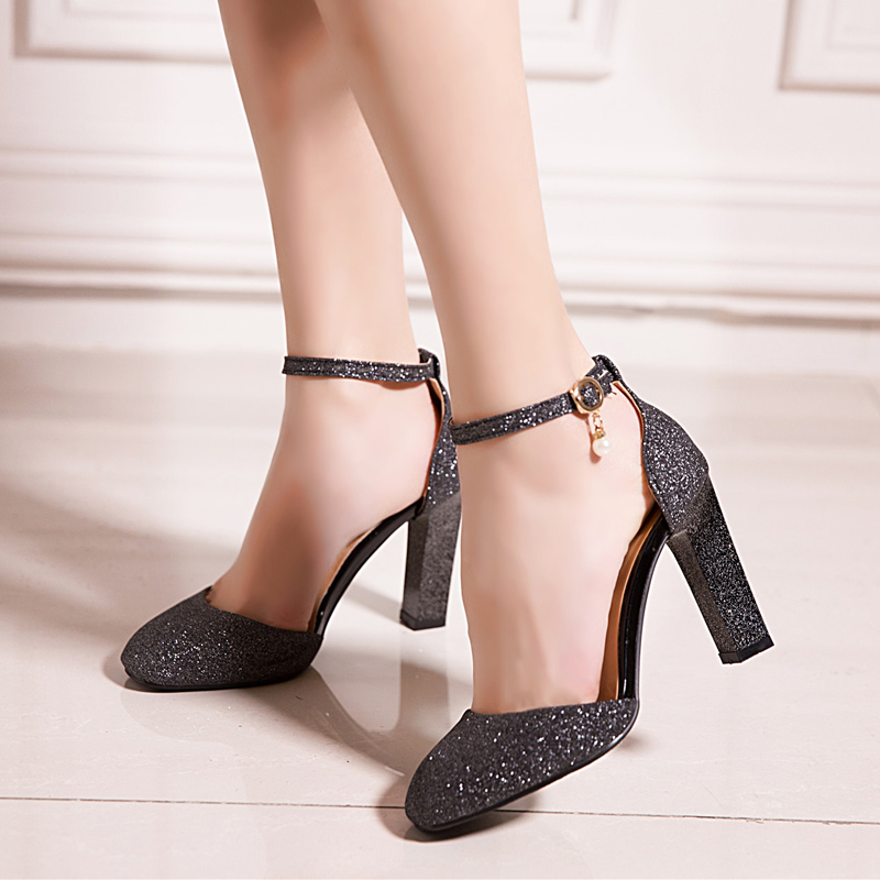 2017 Hot New Summer Style Sandals Women Sweet fashion Big Size 31-45 Lady Shoes High Heel Women Pumps wedding Party shoes T710 xiaying smile summer new woman sandals casual fashion shoes wedges heel women pumps bling crystal sweet lady style women shoes