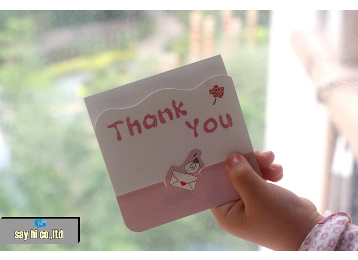 Thanks Greeting Card 36pcs Business Cards Business Good Luck Best ...