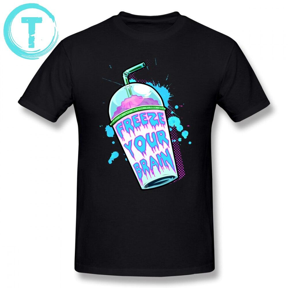 Heathers T Shirt Freeze Your Brain T-Shirt Oversized Men Tee Shirt Summer 100 Cotton Short Sleeve Cute Graphic Tshirt1