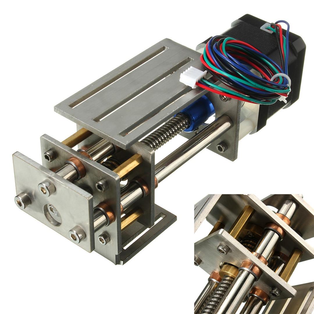 1pc New 60mm Z Axis Slide 12V 3 Axis DIY Milling Linear Motion For CNC Engraving Machine  диск тв сп практика 305х30 z 60 t 3 0 mm ламинат 775 174