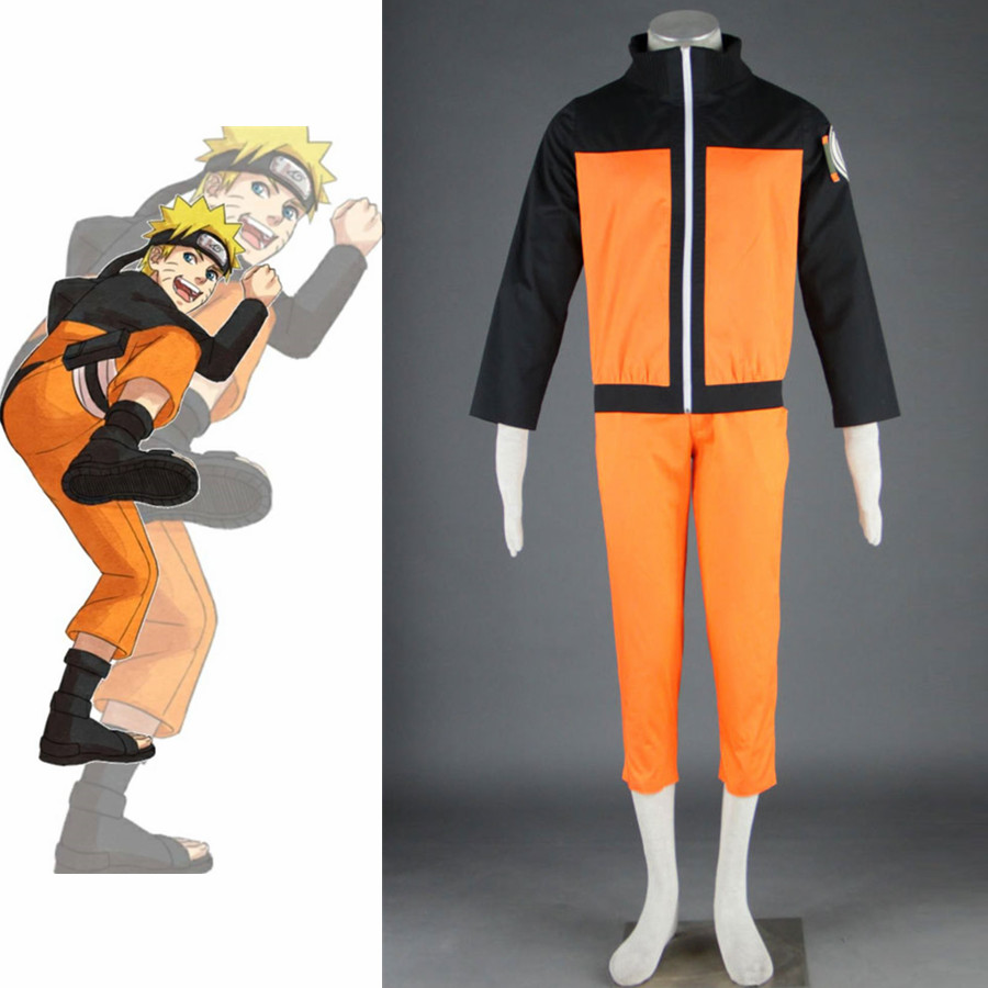 Anime Naruto Cosplay Uzumaki Naruto Second generation Costume Set Woman Men Jacket Pant