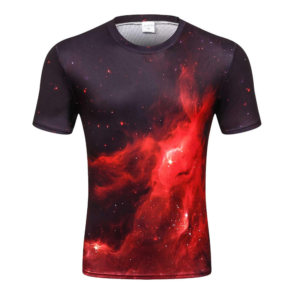 Space galaxy   t  -  shirt   for men 3d   t  -  shirt   funny print cat horse shark cartoon fashion summer   t     shirt   tops tees plus size