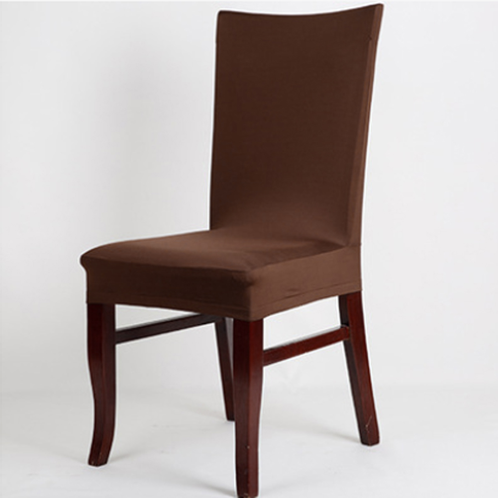 Dining Chair Cover Aliexpresscom Buy 1pc 14 Color Universal Elastic Cloth Chair