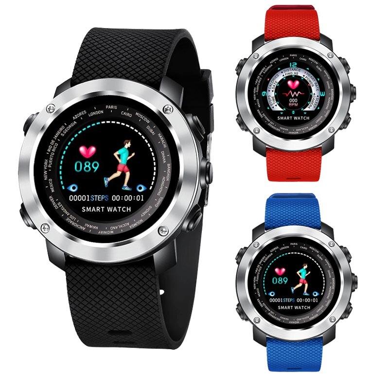Bracelet intelligent de podomètre de traqueur de forme physique de montre masculine intelligente de Bracelet de santé pour IOS Android