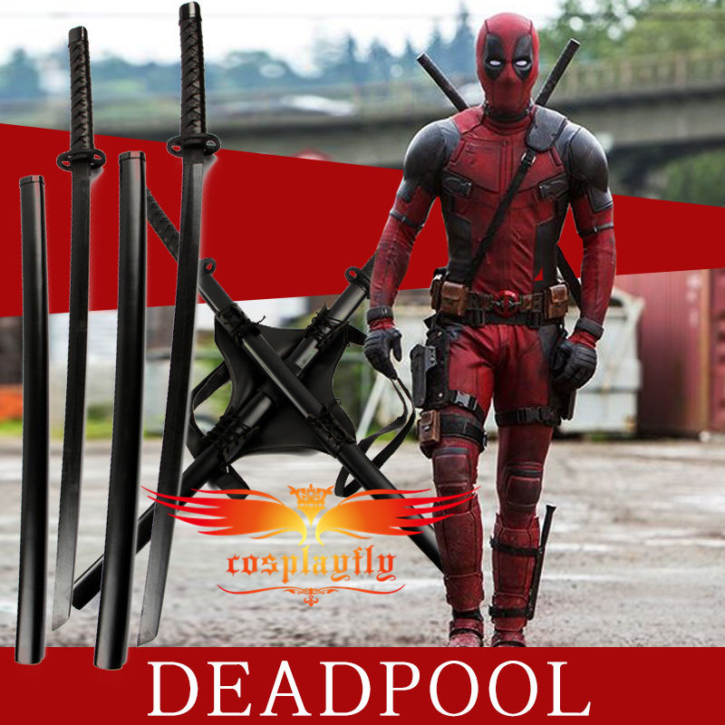 Costumes & Accessories Deadpool Superhero Prop Swords Backstrap