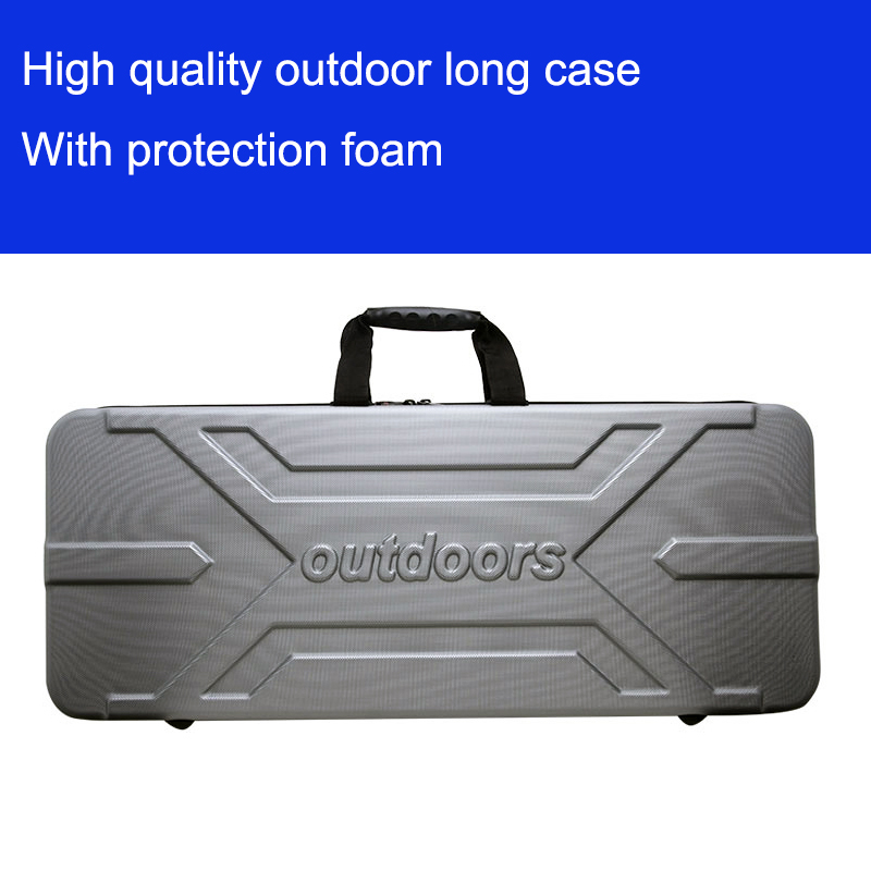 High Quality Tool Case Long Gun Case Outdoors Luggage Special Luggage Box Plastic Toolbox Safety Box Suitcase With Foam Lining