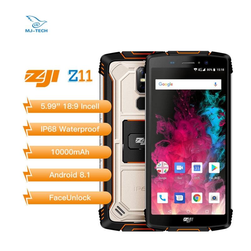 Smartphone HOMTOM ZOJI Z11 10000mAh IP68 étanche 4GB 64GB téléphone portable Octa Core 4G FDD 5.99 pouces-in Mobile Téléphones from Téléphones portables et télécommunications on AliExpress - 11.11_Double 11_Singles' Day 1