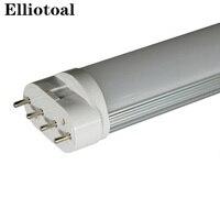 2g11 ống 4pin linestra dimmable dẫn đèn PL Màu trắng Sữa 10 wát 225 mét 12 wát 320 mét 15 wát 410 mét 22 wát 535 mét thay thế halogen AC85--265V