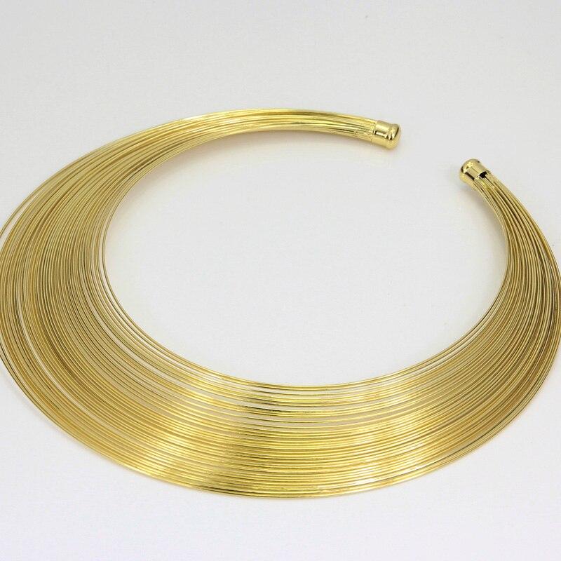 Fashion Dubai Jewelry Sets African Women Gold Wire ...