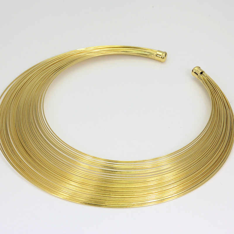 Liffly แฟชั่นดูไบ Gold ชุดเครื่องประดับสำหรับสตรีแอฟริกันงานแต่งงานลวด Charm สร้อยคอสร้อยข้อมือต่างหูไนจีเรียเครื่องประดับเจ้าสาว