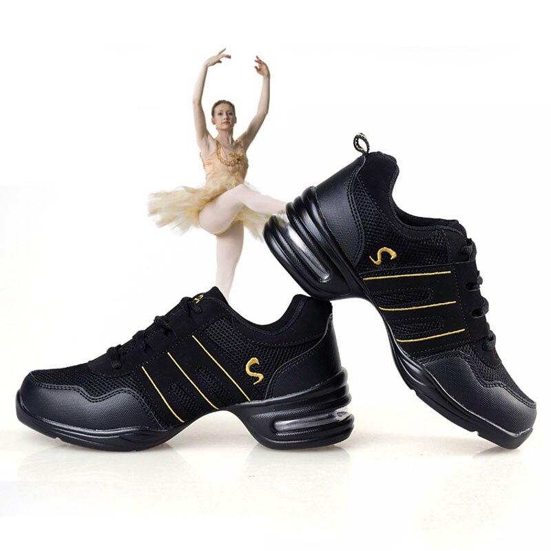 Aliexpress.com  Comprar Las mujeres Zapatos de baile Jazz Hip Hop Zapatos  Mujer Zapatos Zapatillas para plataforma deportes Dancing marca  transpirable ... b051e2b9be2