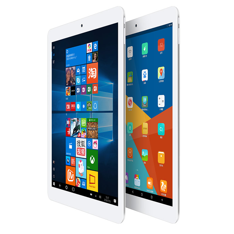 9.7 inch Teclast X98 Plus II Tablet PC  Windows 10 + Android 5.1 Intel Cherry Trail Z8300  Quad Core 1.44GHz 4GB RAM 64GB ROM bben z10 tablets windows 10 intel cherry trail z8350 quad core 4gb ram 64gb rom hdmi tablet pcs