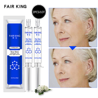 2PCS Tea Tree Hyaluronic Acid Injection Face Serum Liquid Tights Anti-Wrinkle Anti Aging Collagen Facial Essence Moisturizing Face Care Serum