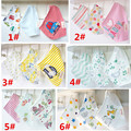 2017 new   3pc/lot 100% cotton bandana bibs baby bibs girls towel bandanas  aTRK0001