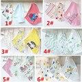 2017 new 3 pc/lote 100% algodão bibs bandana do bebê babadores para bebês meninas bandanas toalha atrk0001