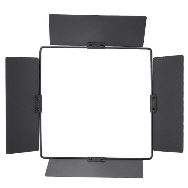 Neewer Lightweight Barn Door For Neewer Cn 576 576led Dimmable Ultra