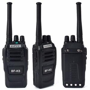 Image 4 - BaoFeng Walkie Talkie K5, 5 W, UHF, frecuencia de 400 470MHz, Radio portátil, transceptor Ham Radio Hf, Radio práctica bidireccional