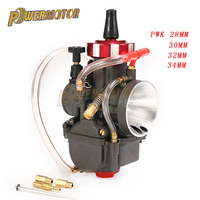 4T PWK 28 30 32 34mm carburetor carburador for Modify Off Road Motorcycle for 150 400 cc racing engine Scooter UTV ATV