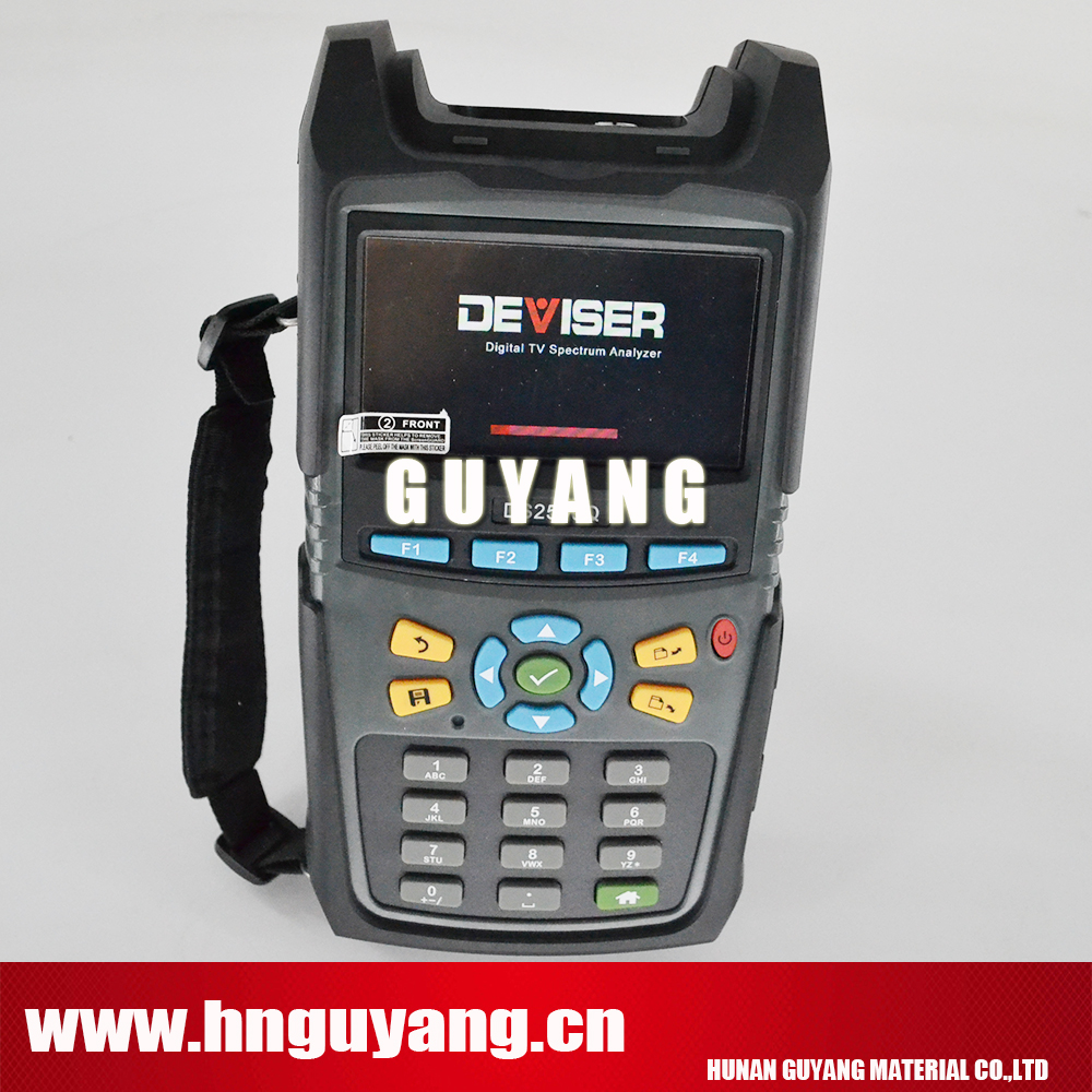Deviser DS2500Q,1000MHz Digital TV QAM Spectrum analyzer Analog & Digital TV analysis, DOCSIS 3.0 analysis