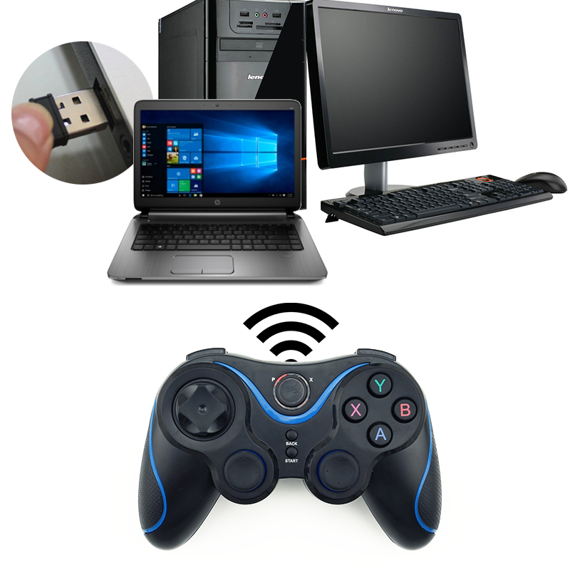 Wireless Game Controller Joystick With Otg For Pc Games Gamepad Universal For Android Tv Box Tablet For Cell Phone Remote 2.4g #2