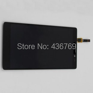 ФОТО LCD Display Touch Screen Digitizer Assembly for Lenovo VIBE Z K910 K910E K6 front Panel Glass Lens black