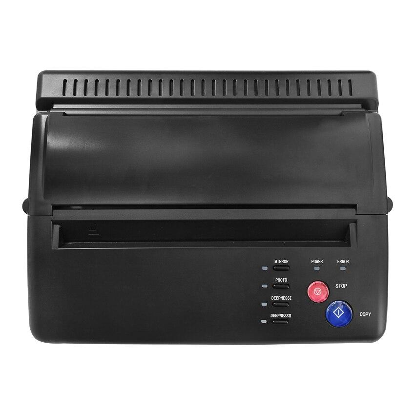 Tatuaż drukarka tatuaż maszyna transferowa rysunek szablon termiczny zrobić kopiarka do transferu tatuażu Papier węglowy tatuaż dostaw