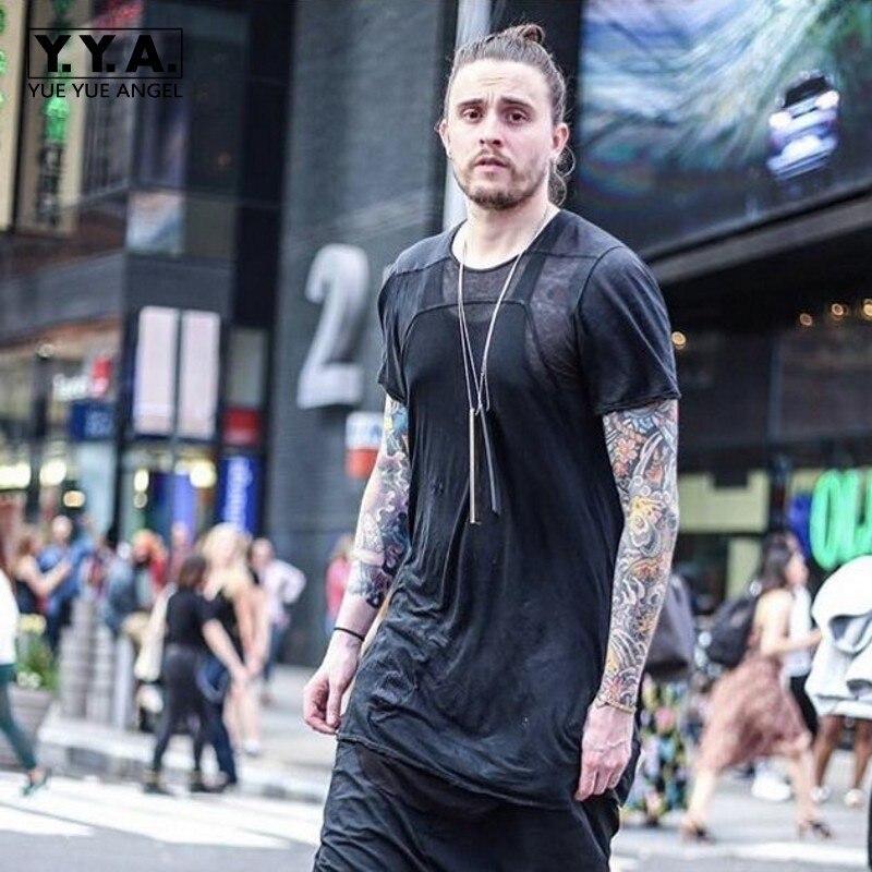 Высокое качество, летние хлопковые мужские футболки с коротким рукавом и круглым вырезом, топ в готическом стиле, модные повседневные черны