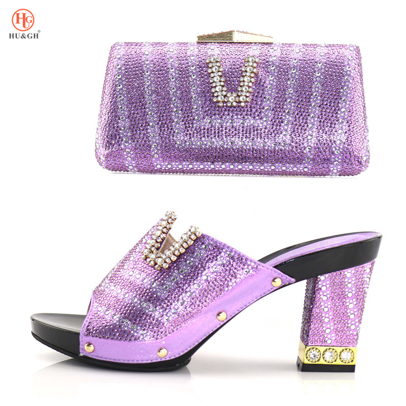 2018 Shoes and Bag To Matching Italian Design Party Shoe and Bag Set For Party Nigerian Women Fashion Shoe and Bag Set Wedding capputine african style shoes and bag to match high quality italian shoes and bag set nigerian party shoe and bag set wedding