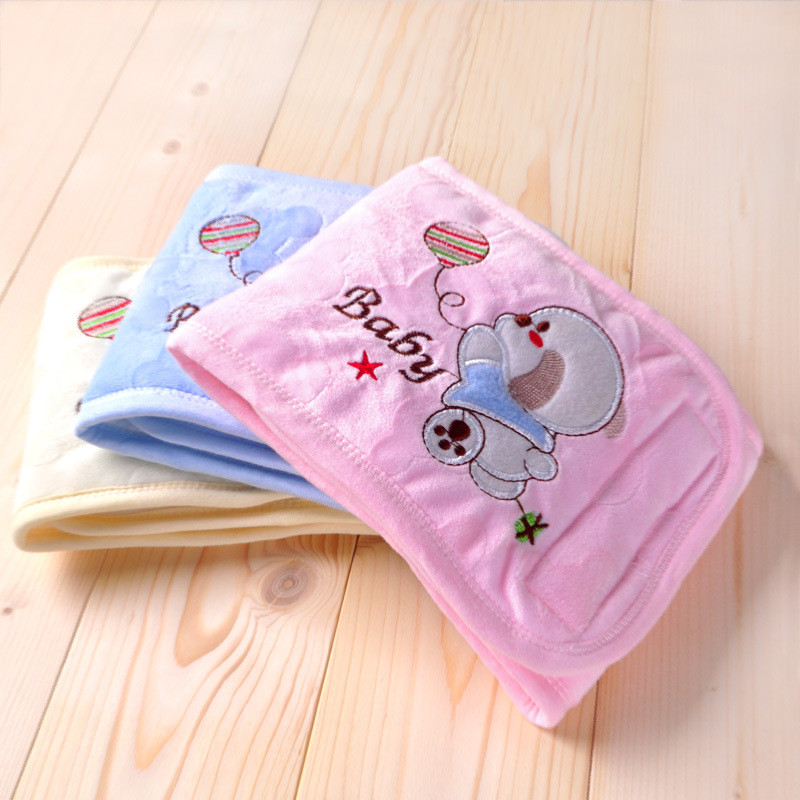 2016 Sale Babador Baberos Baby Bibs Newborn Baby Belly Circumference Thick Cotton Quilted Apron Bibs Autumn And Winter C-dud002