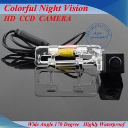 Frete grátis HD de backup impermeável estacionamento reverso câmera de visão traseira do carro para Geely Emgrand EC7 Promoção Fábrica